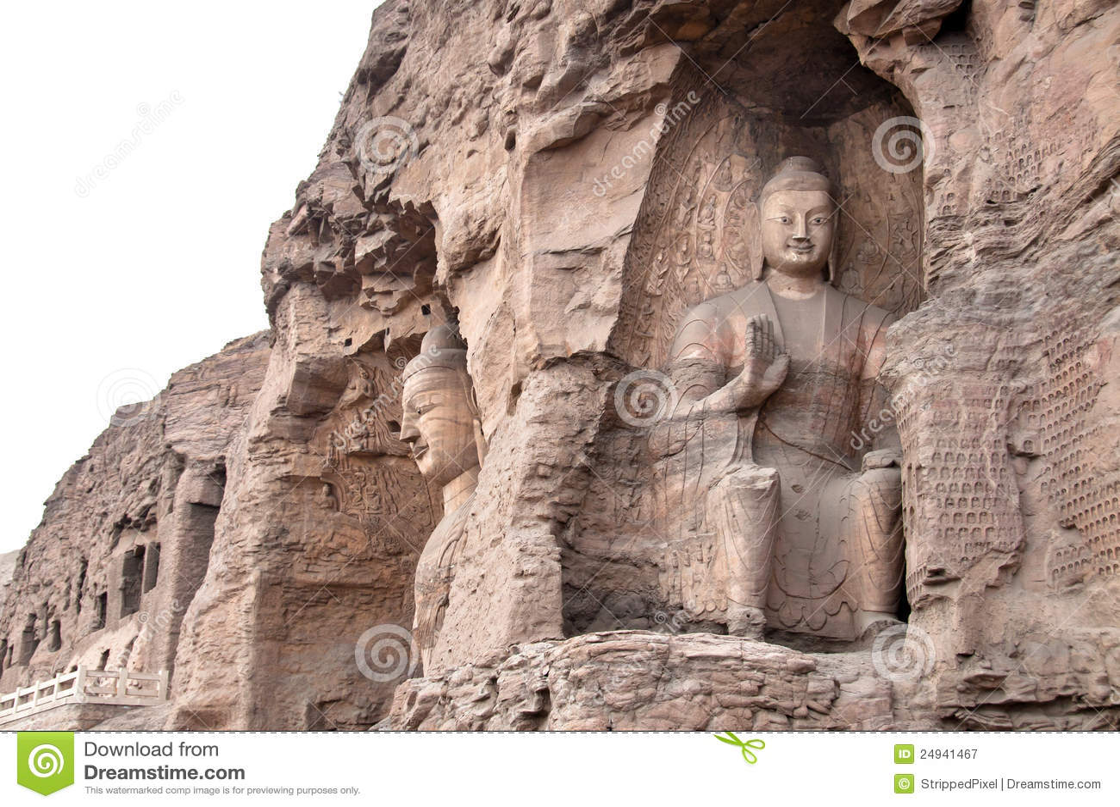 Grottes de Yungang, Datong, Chine