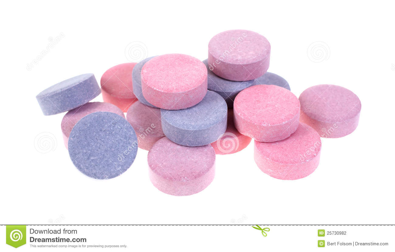 how to use pink plaque tablets