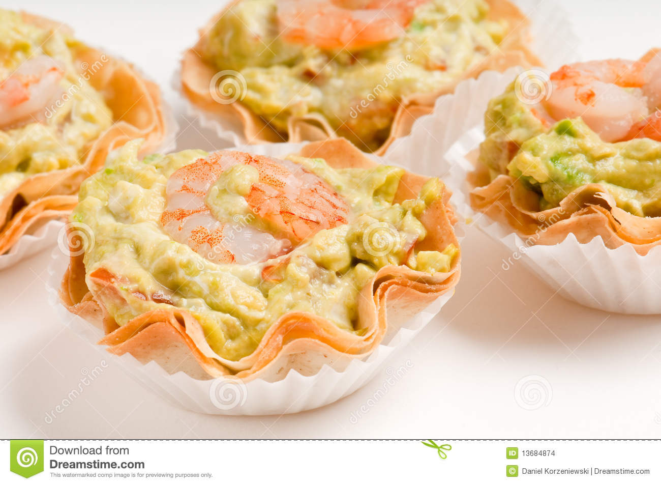 Group of avocado and shrimp canapes stock images image for Canape vector download