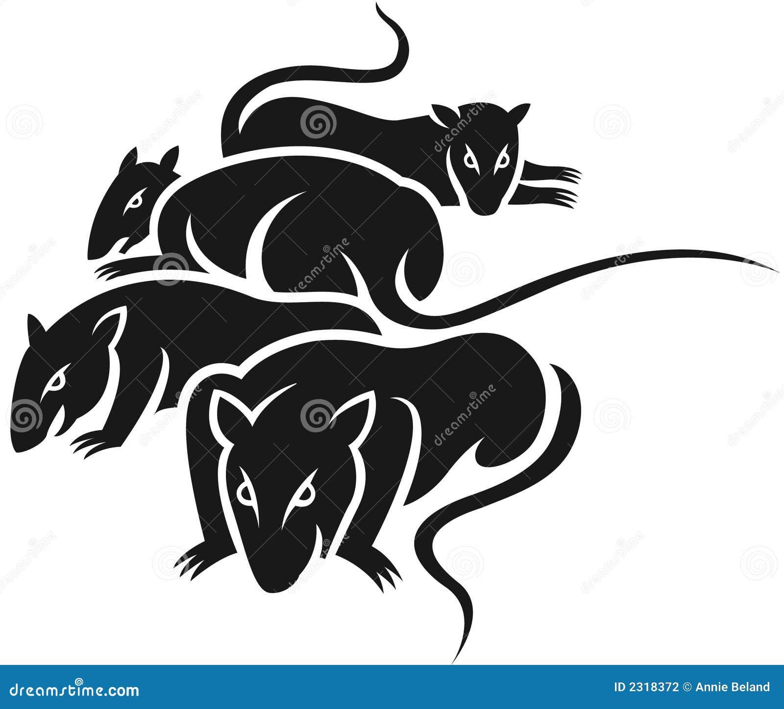 Group of bad rats