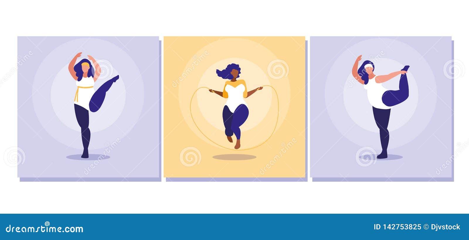 Women Exercising Stock Illustrations 2 605 Women Exercising Stock Illustrations Vectors Clipart Dreamstime
