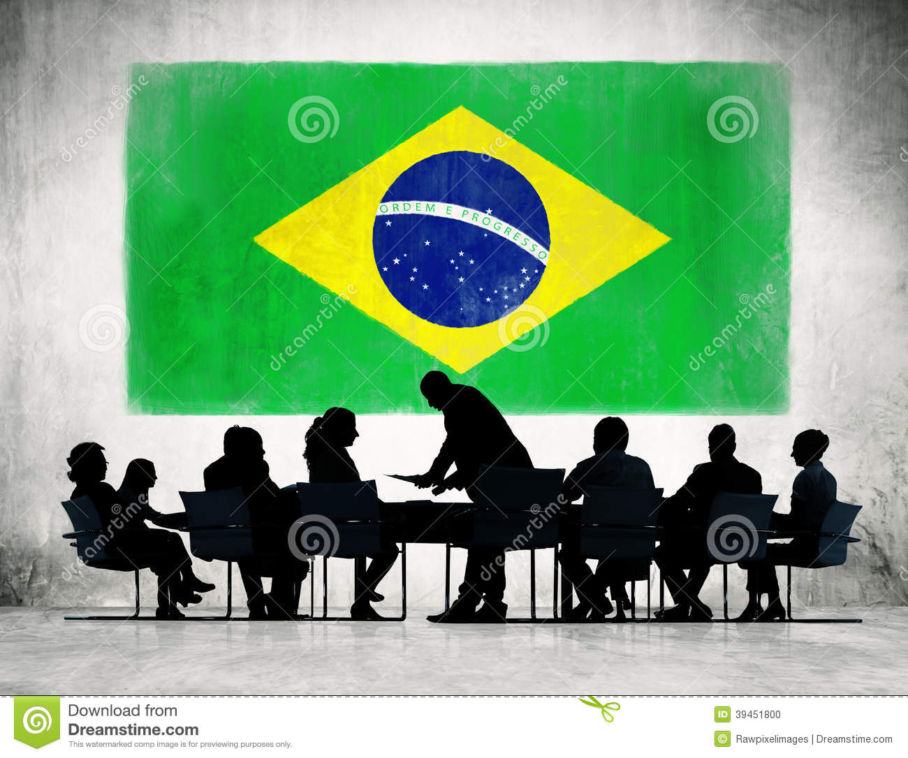 how to write a business message to brazil