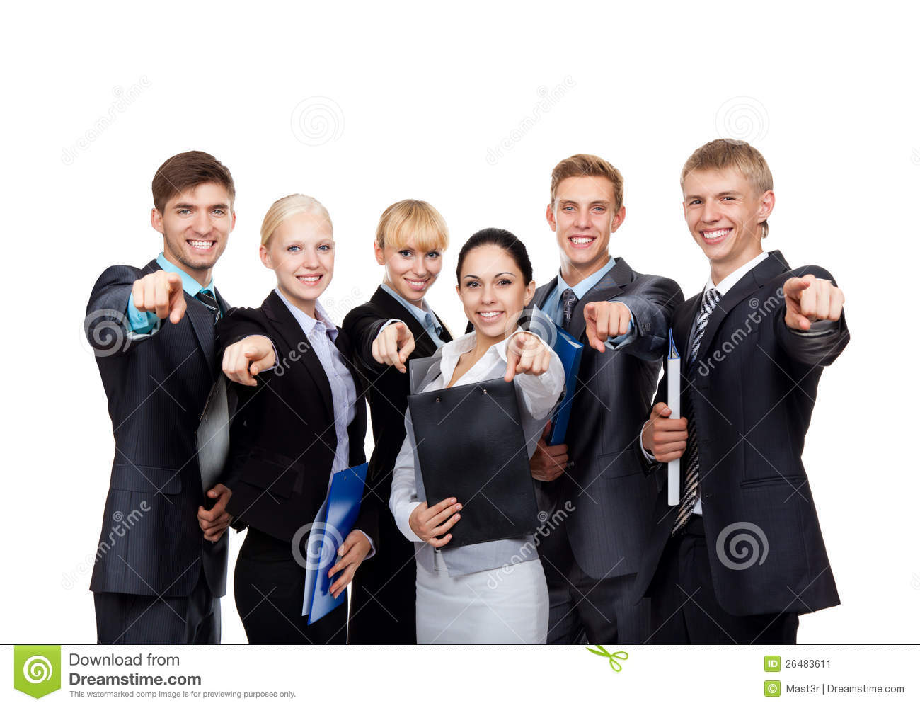 Group Of Business People Stock Image - Image: 26483611