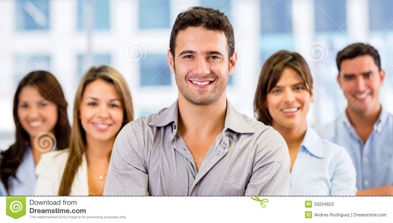 Group Of Business People Stock Photos - Image: 29204823