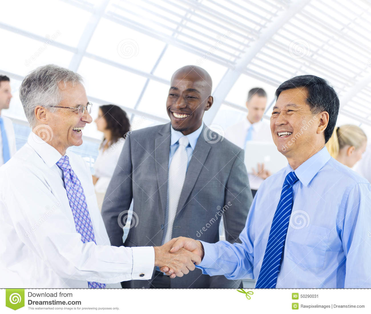 Group Of Business People Meeting Stock Photo - Image: 50290031