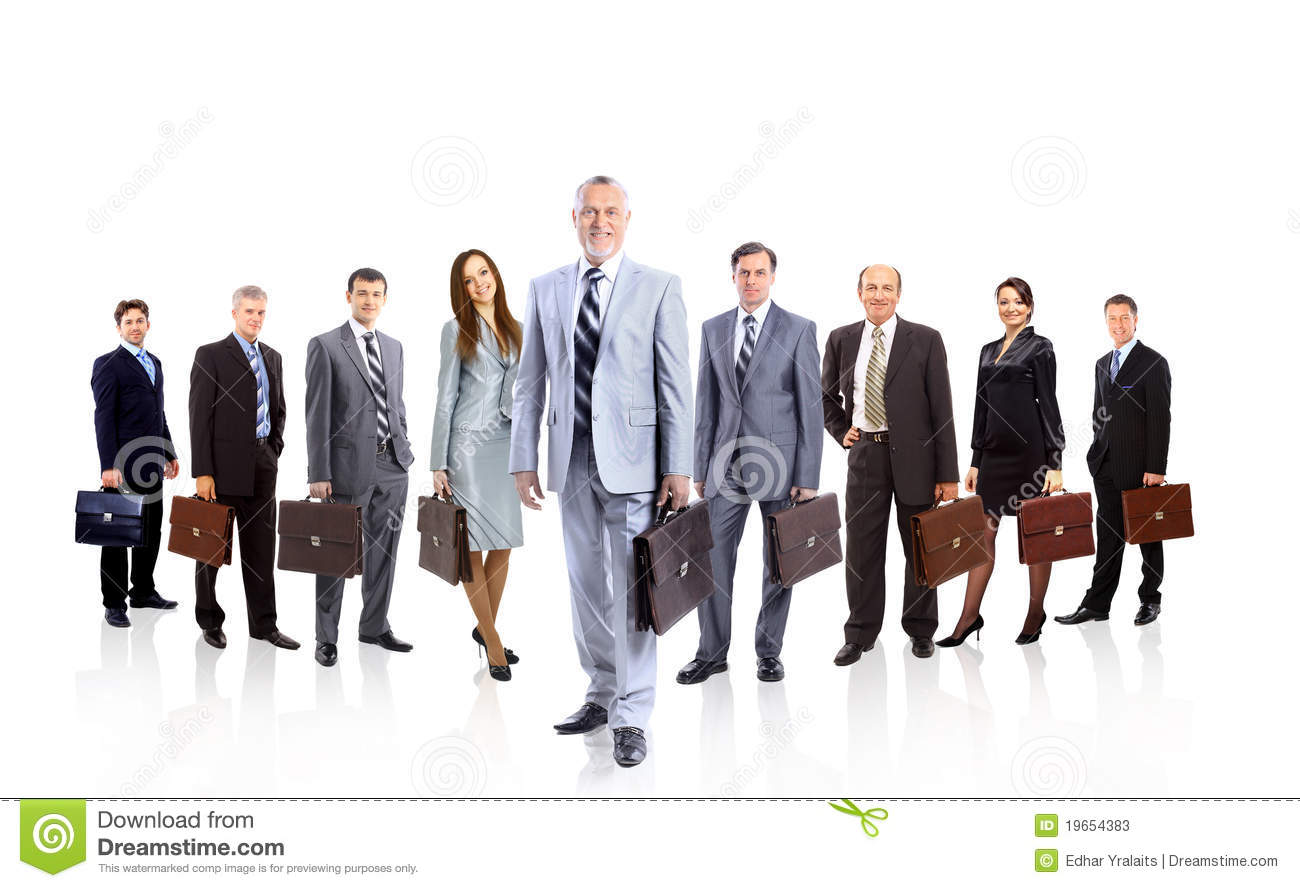 A group of businesspeople