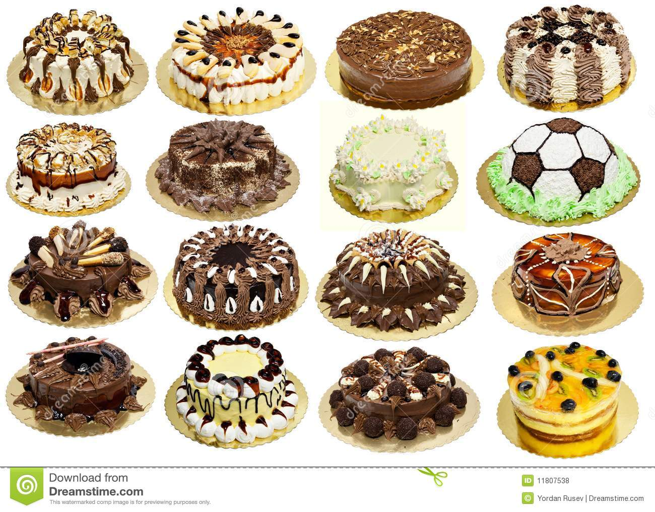 Group Of Cakes Stock Photo Image Of Balls Cake Biscuit