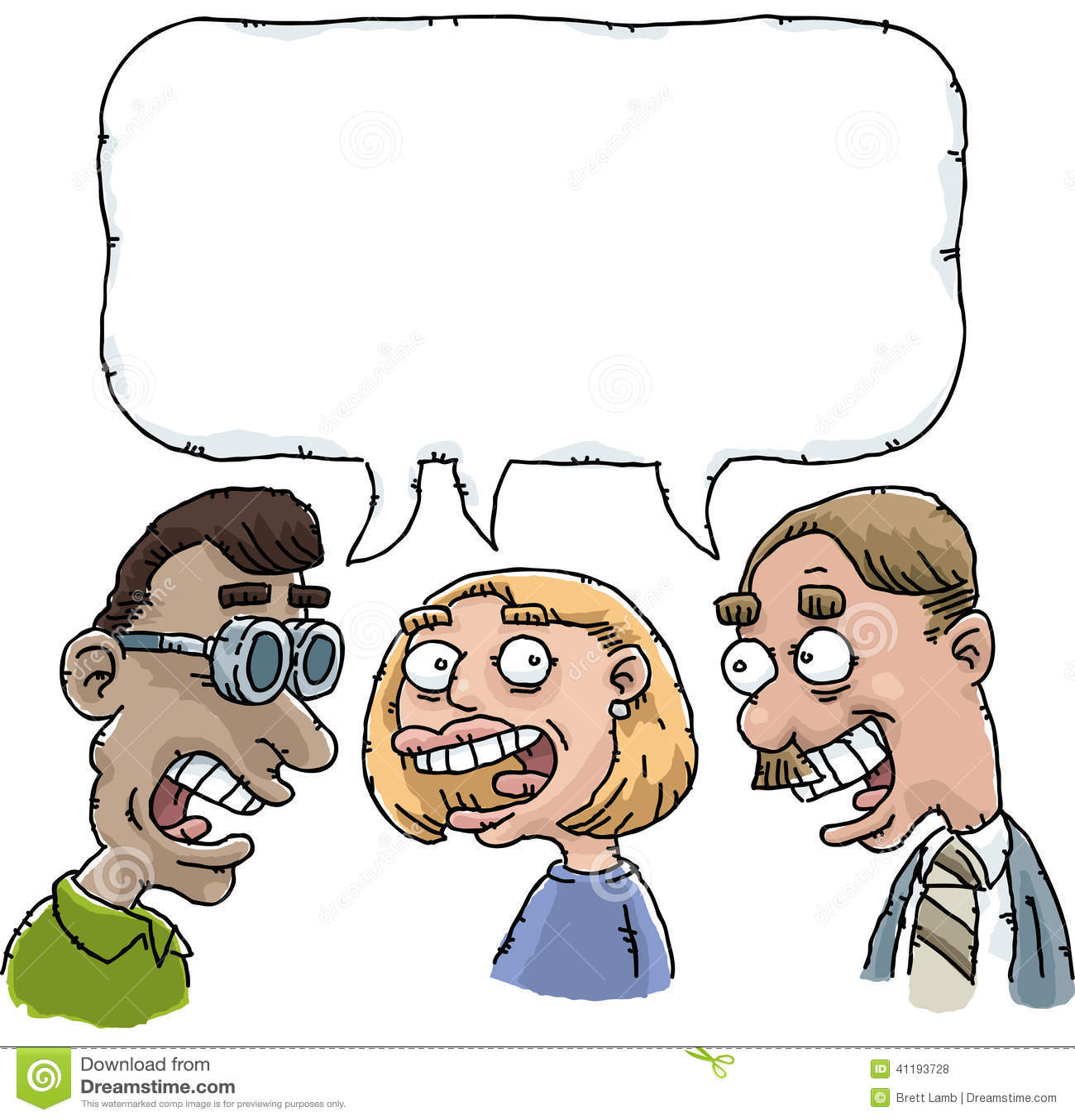 Cartoon chats