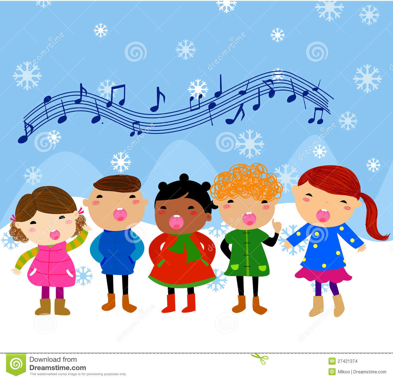 Religious Christmas Carols Children
