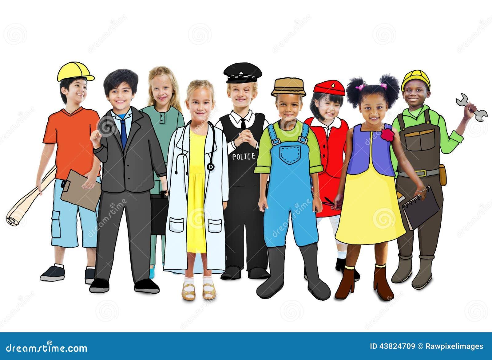 Different Careers Clip Art
