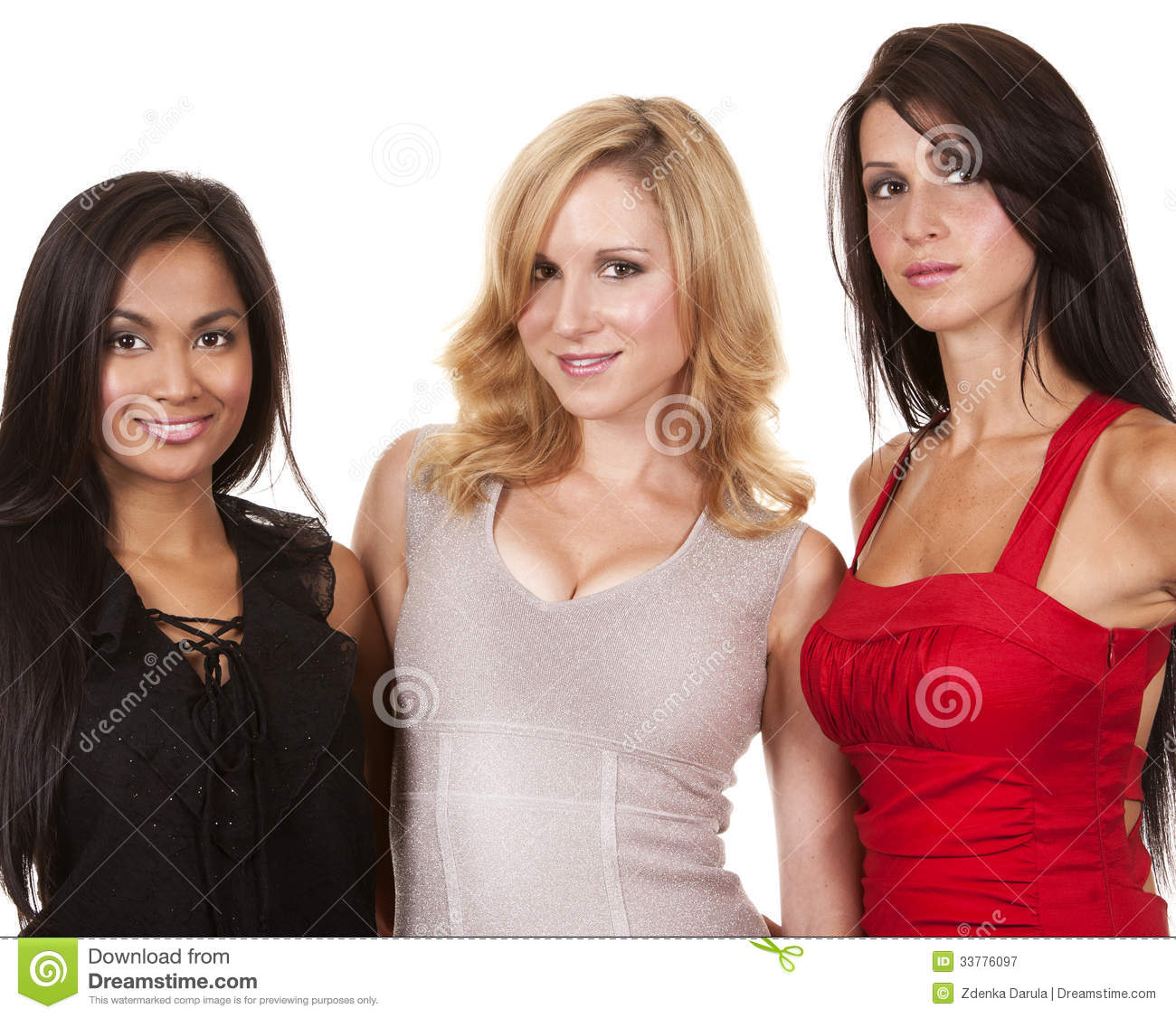 Classy And Glamorous Photo: Group Of Classy Women Stock Image. Image Of Occasion