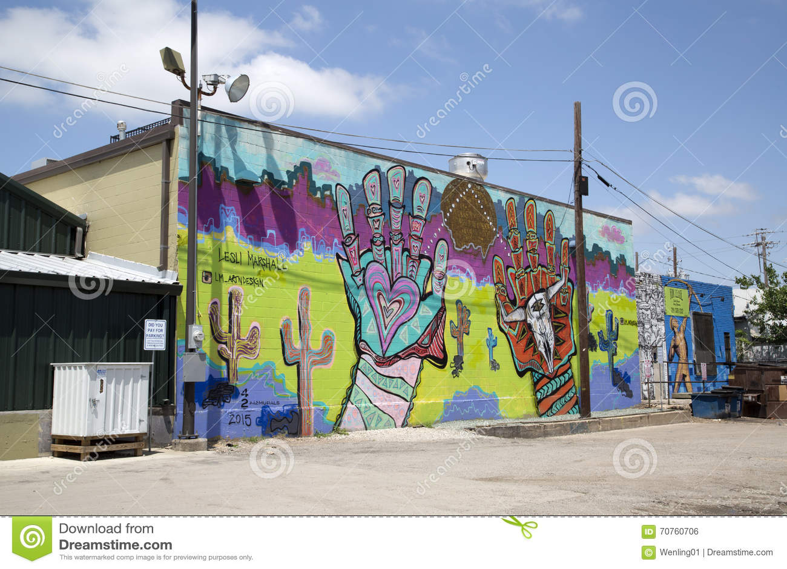 Graffiti wall dallas - Group Colorful Graffiti On The Wall Of Building Royalty Free Stock Image