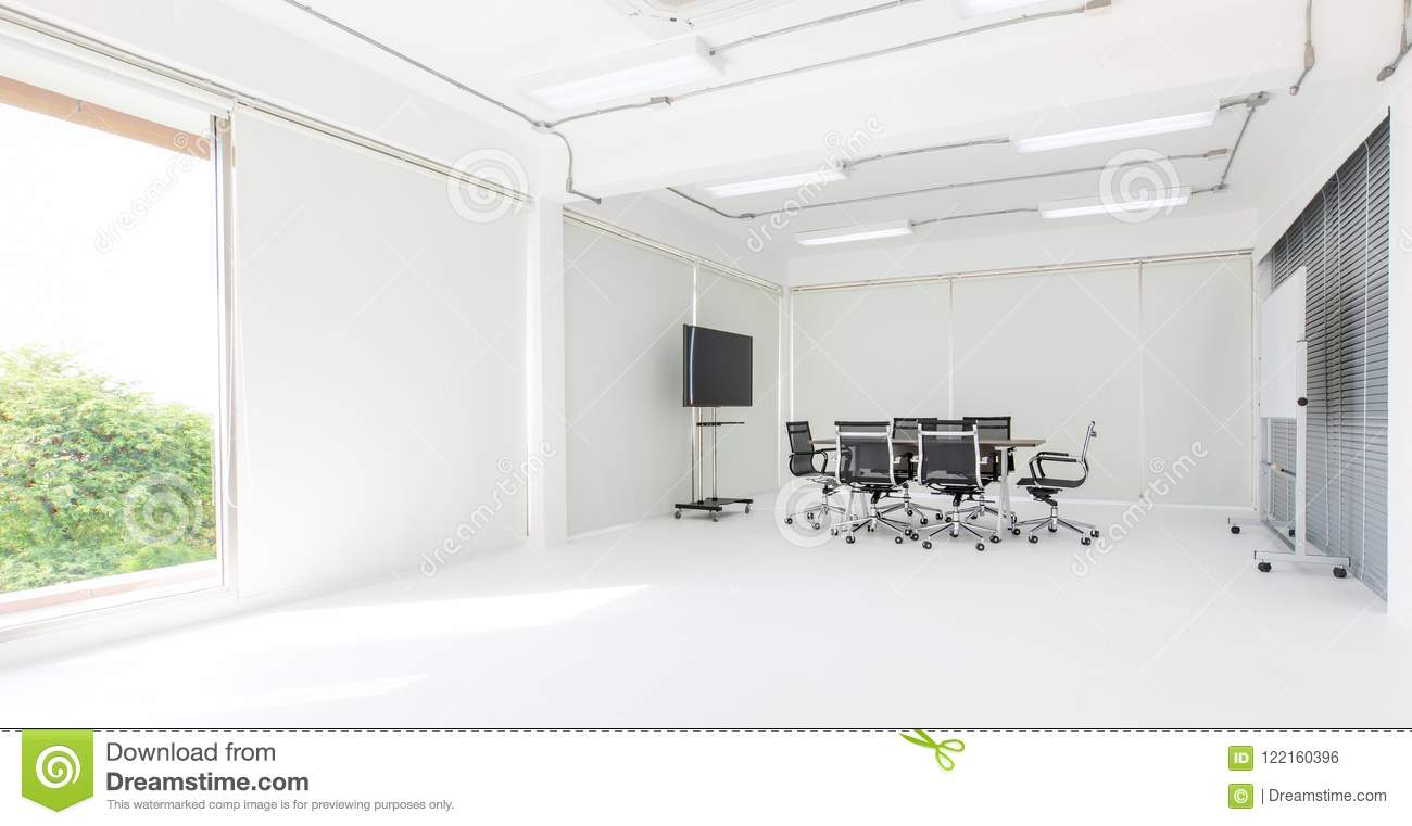 Wondrous Group Of Conference Table And Chairs In White And Wide Download Free Architecture Designs Ferenbritishbridgeorg