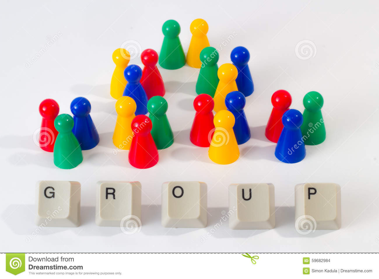 Group consists of seven smaller groups