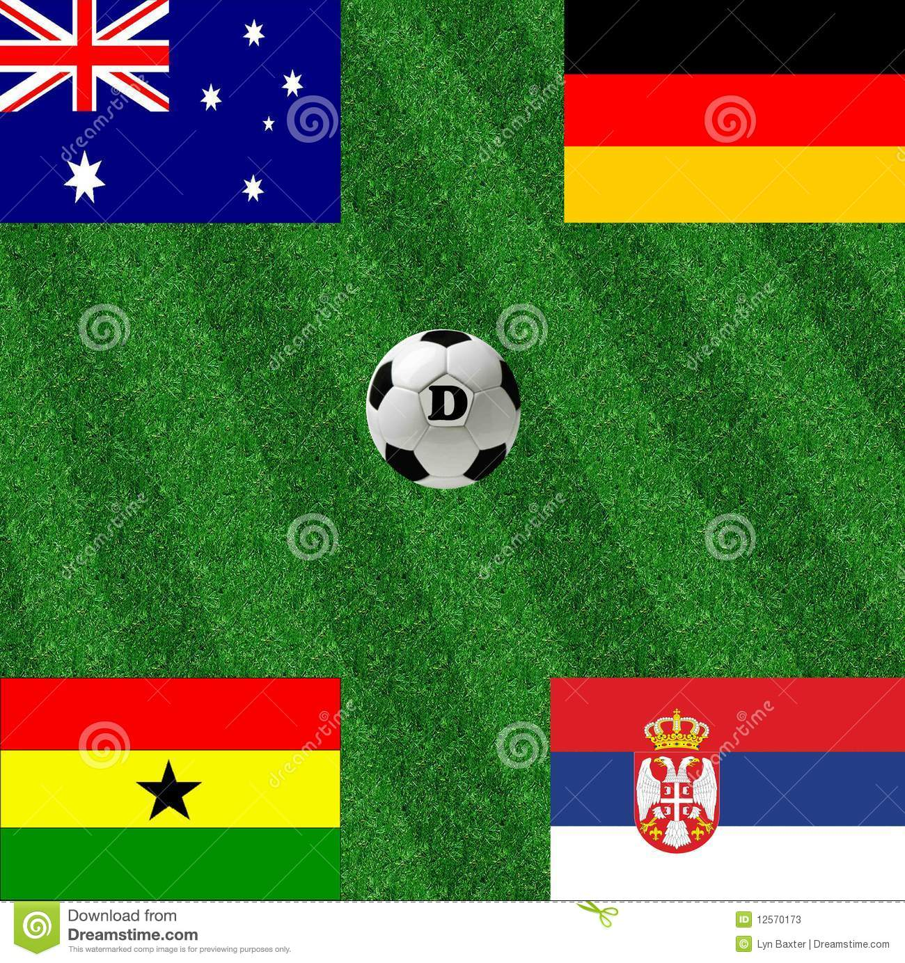 Group D world cup soccer