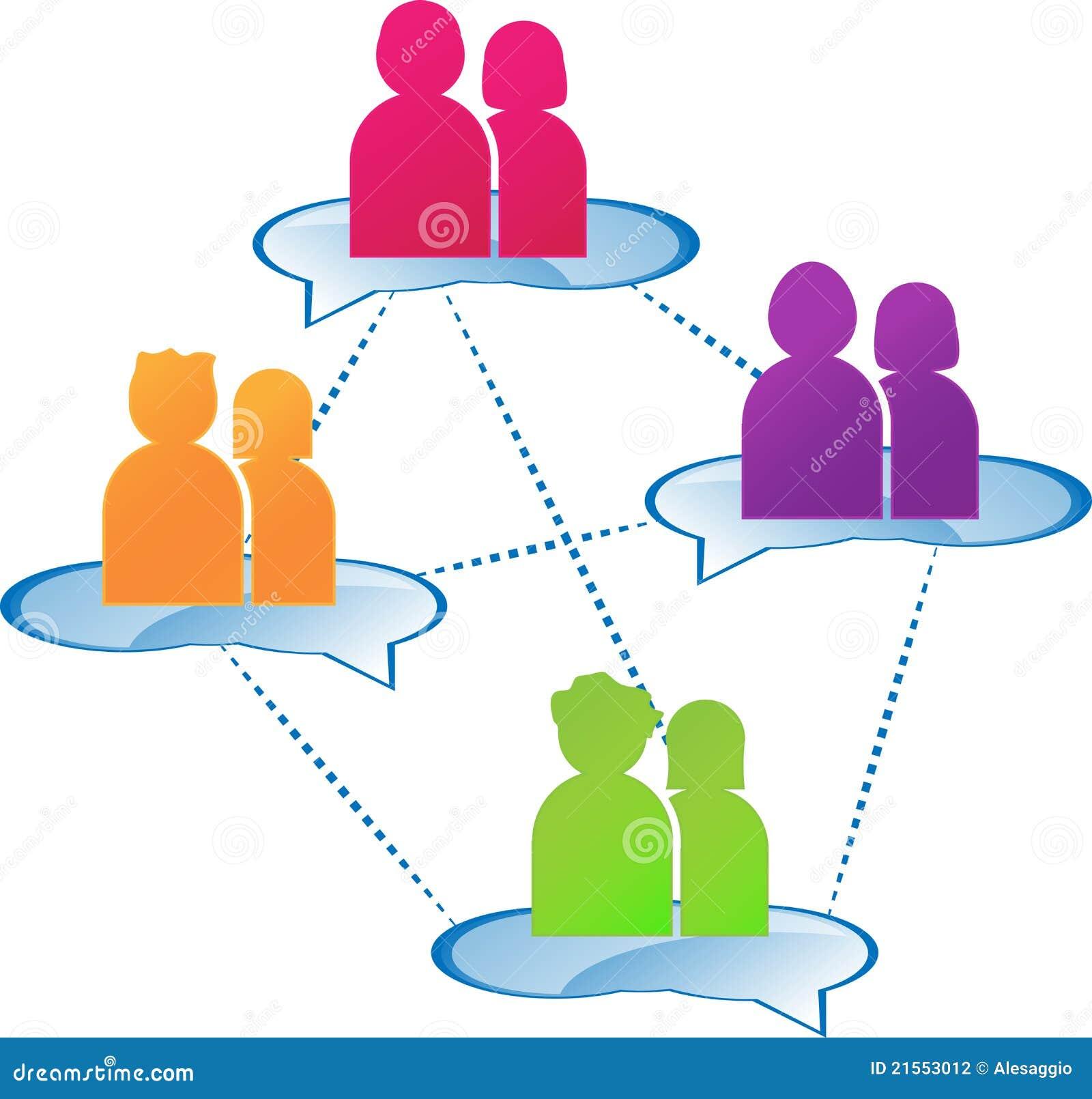 Group Dialogue Stock Photography