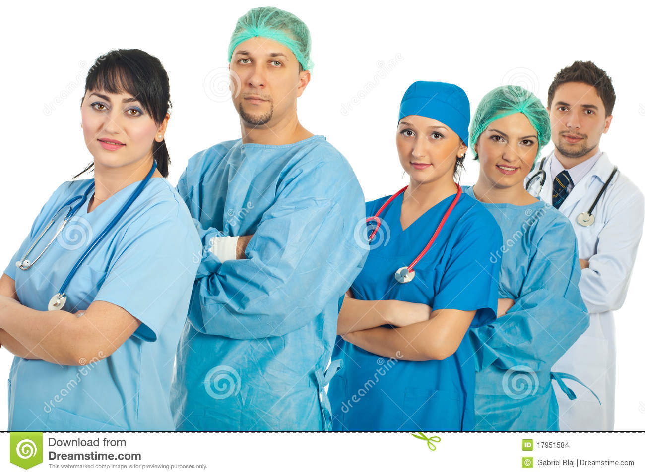 Group Of Different Doctors Stock Images Image 17951584