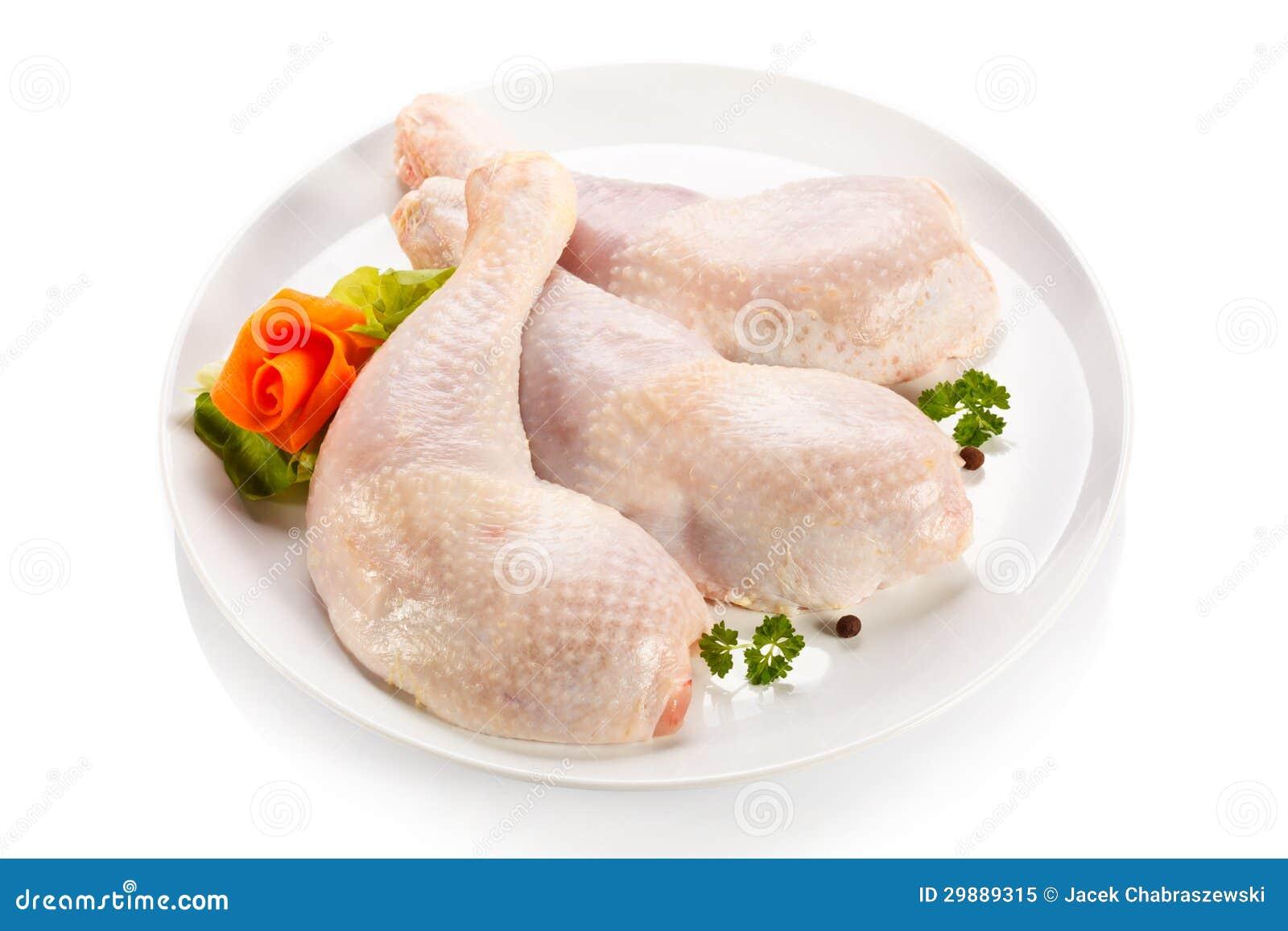 Fresh raw chicken legs stock image. Image of closeup ...