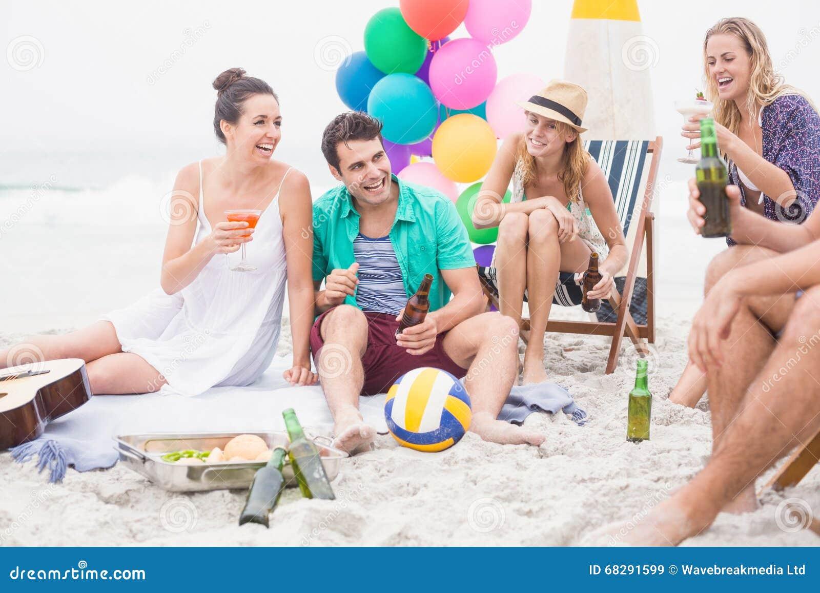 Friends having enjoyment