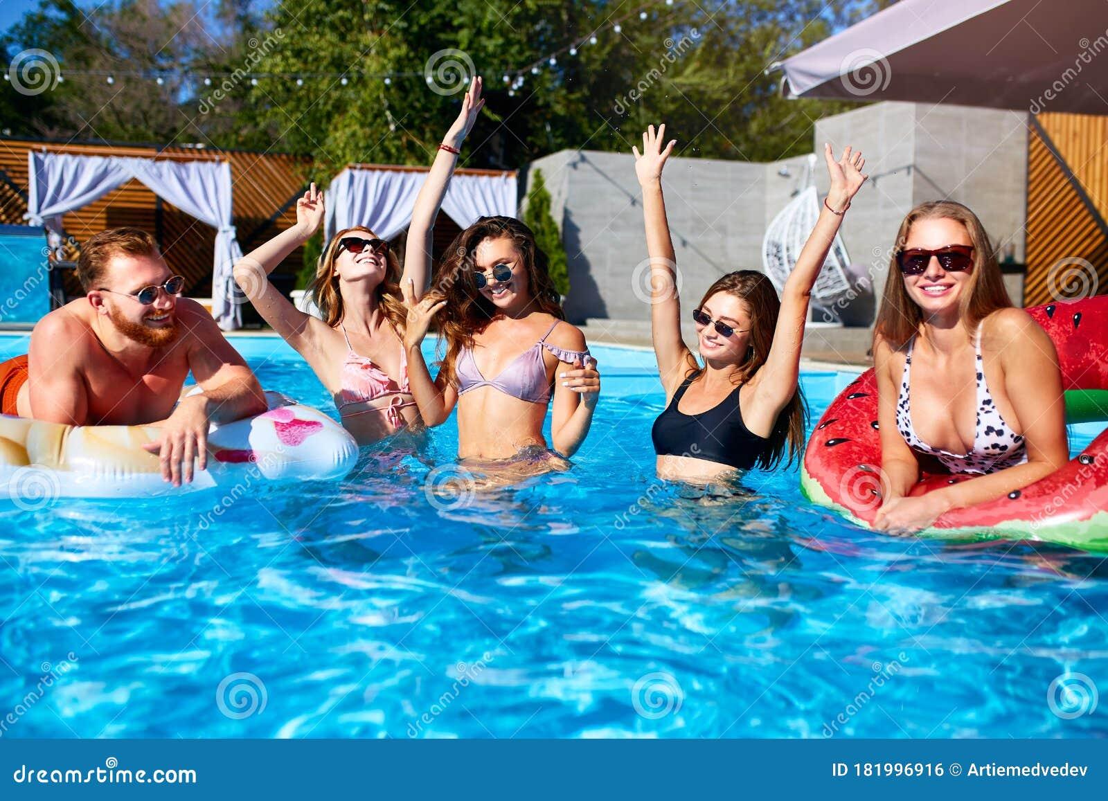Group Hot Women