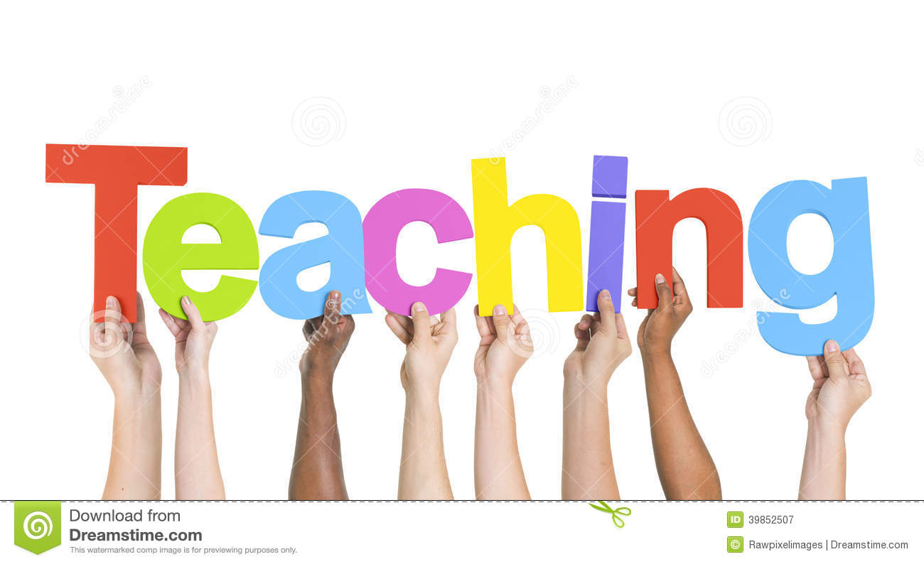 Group Of Hands Holding Teaching Stock Photo - Image: 39852507