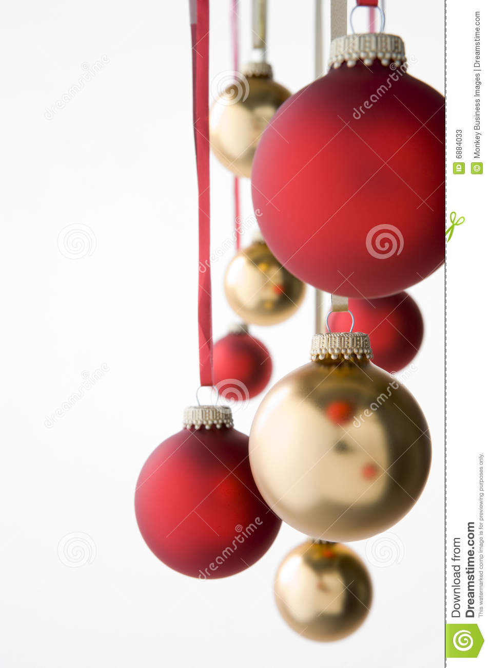 group of hanging christmas decorations - Hanging Christmas Decorations