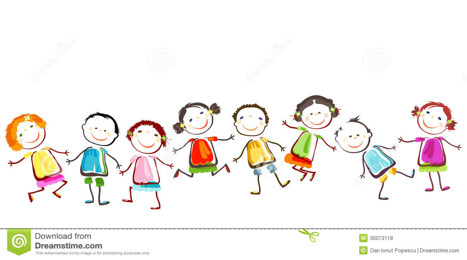 Happy Children Royalty Free Stock Photos Image 30073118