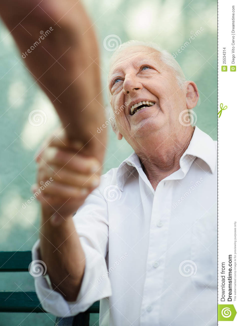 Group Of Happy Elderly Men Laughing And Talking Stock ...