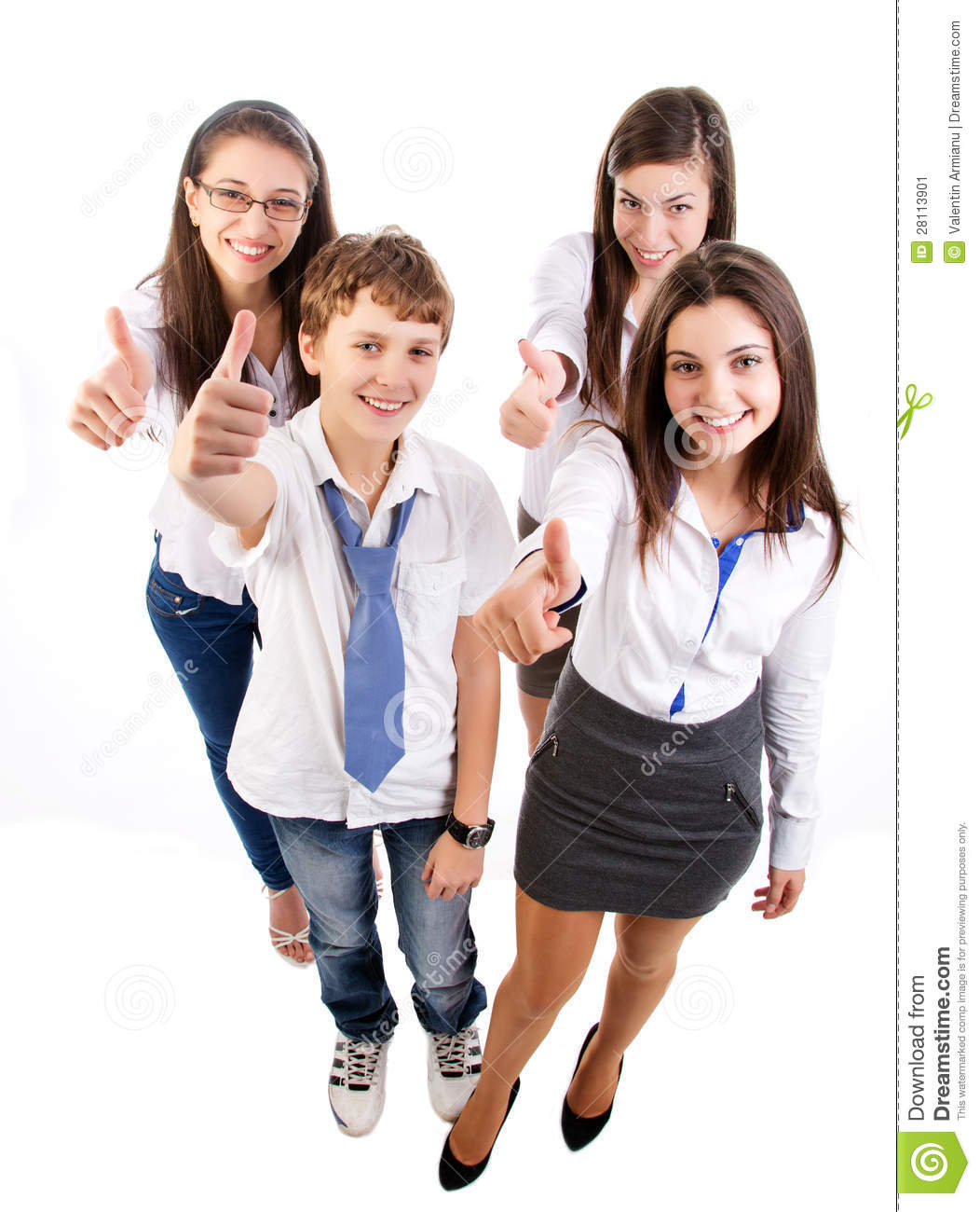 Schools Education6 25 18students: Group Of Happy Students Stock Image. Image Of Student