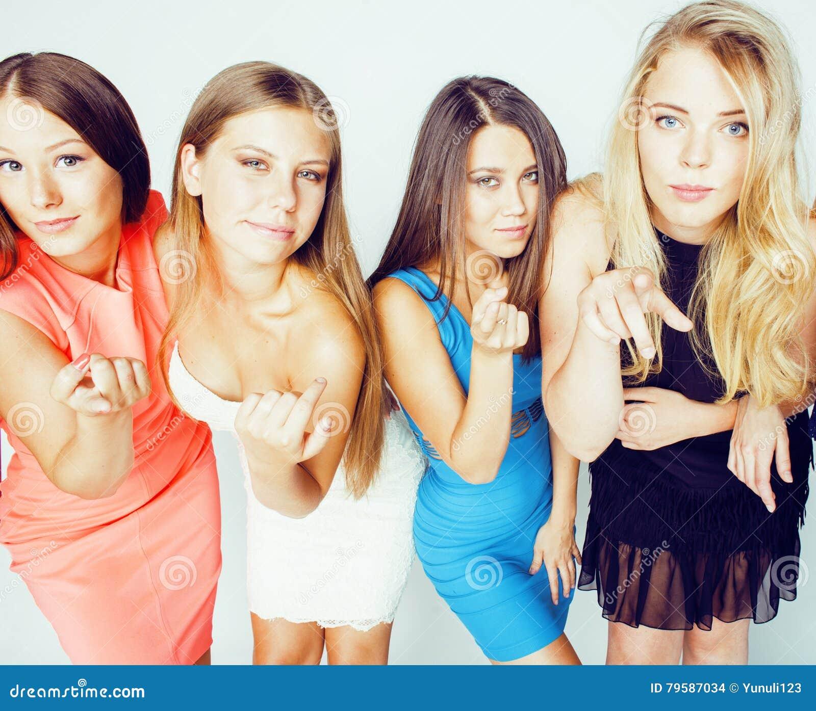 Много девушек вместе фото, горячая попки и лучшие