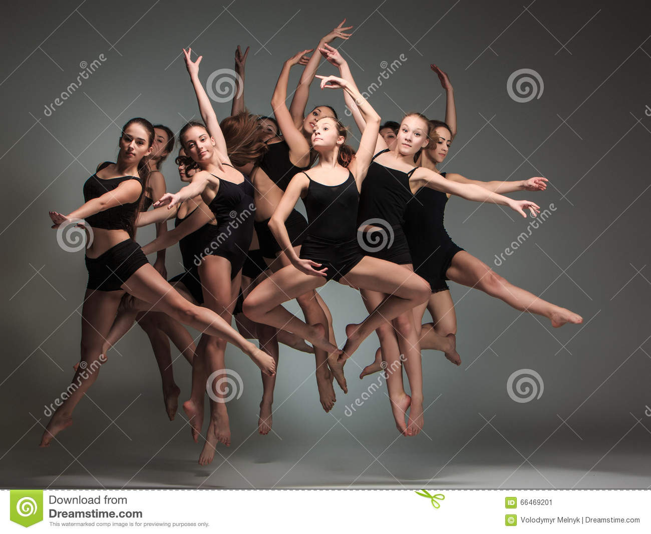 Group Of Ballet Dancers 21