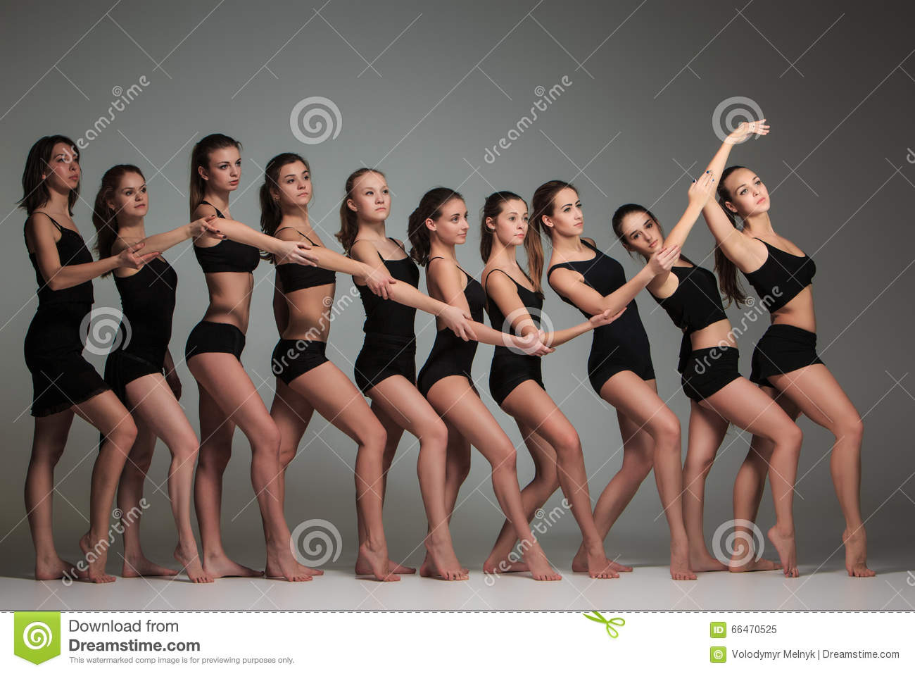 Group Of Ballet Dancers 29