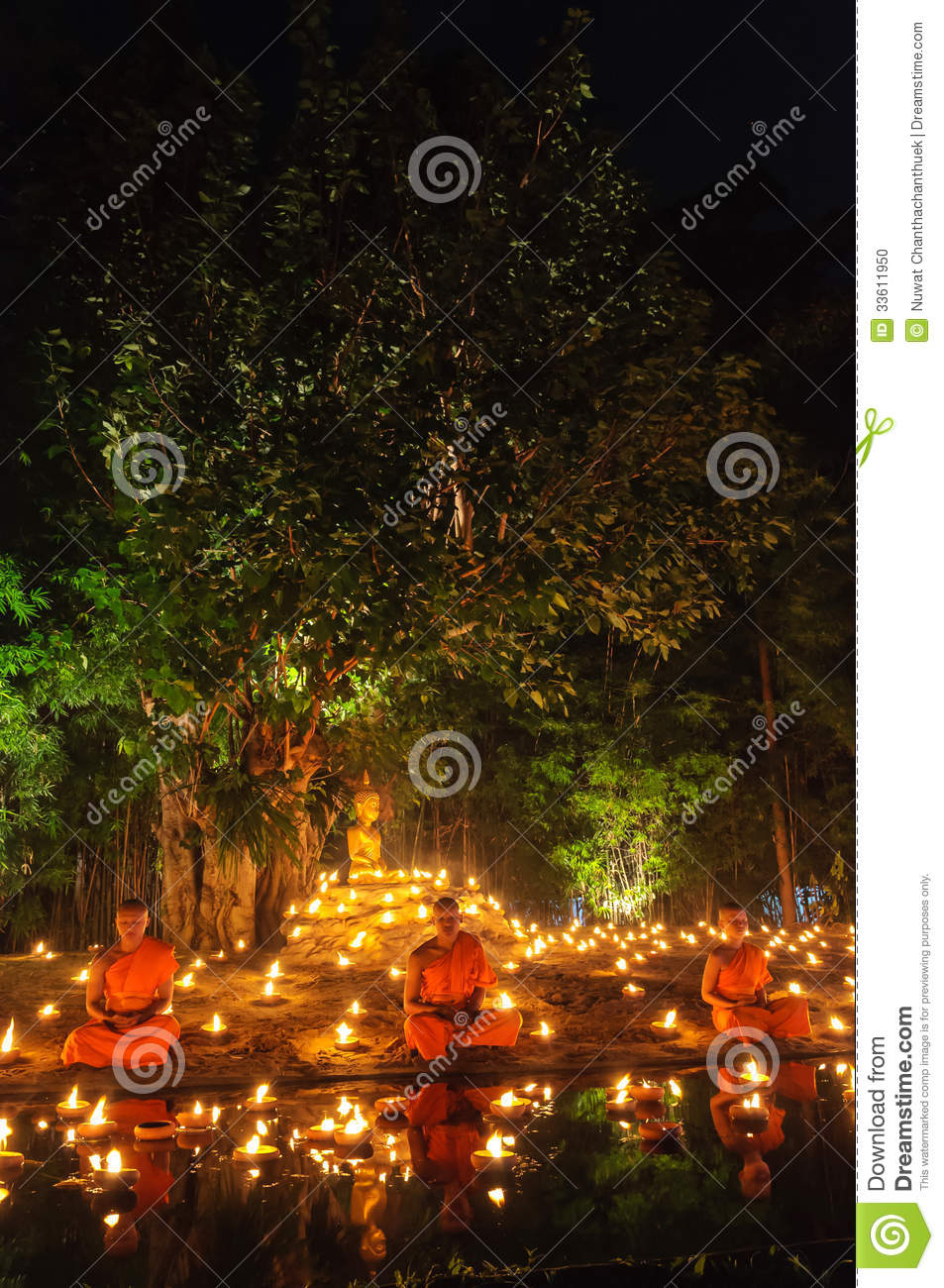 Group of monks editorial image. Image of colorful, monk ...