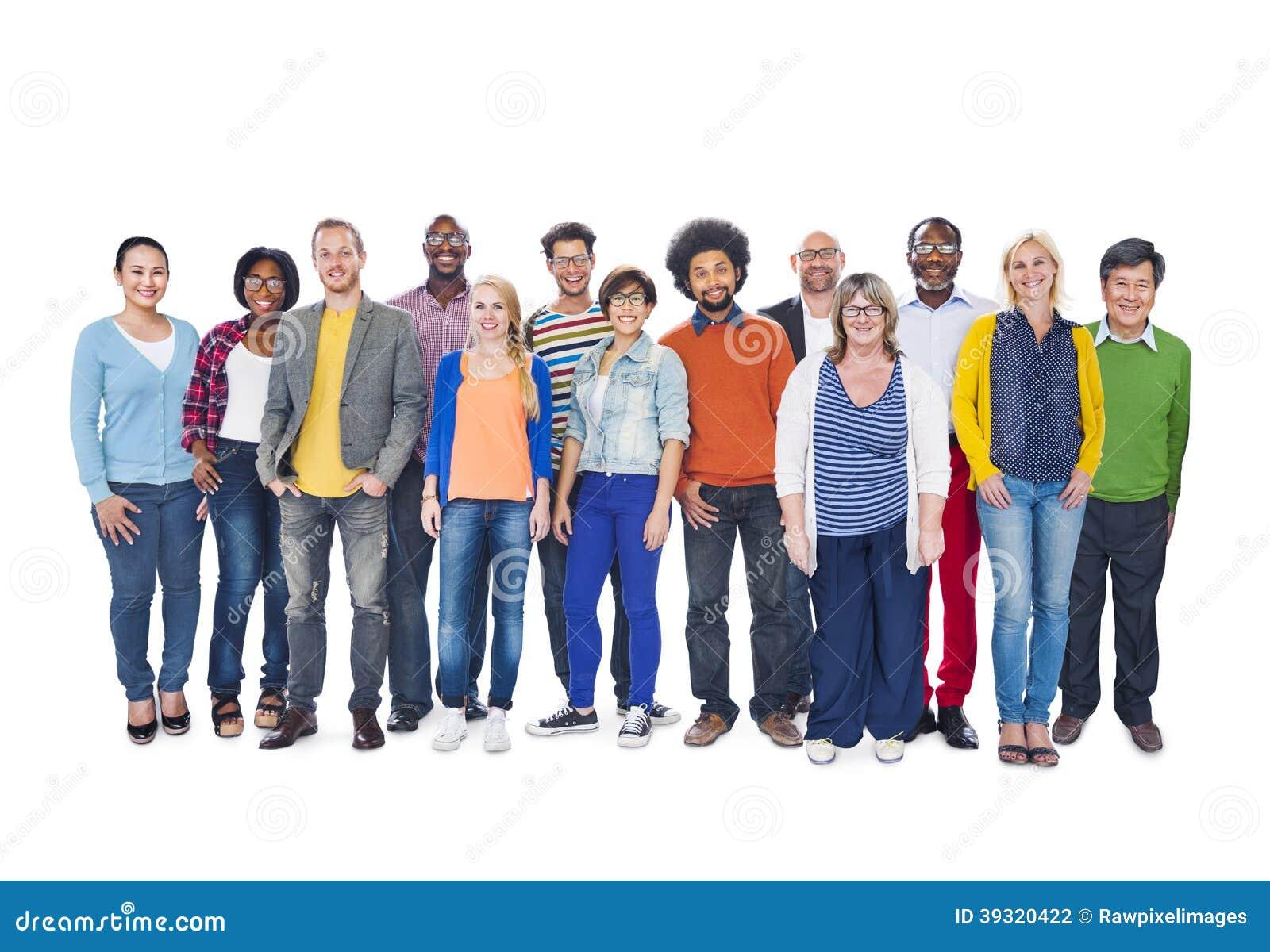 Group Of Multi-Ethnic People Stock Photo - Image: 39320422