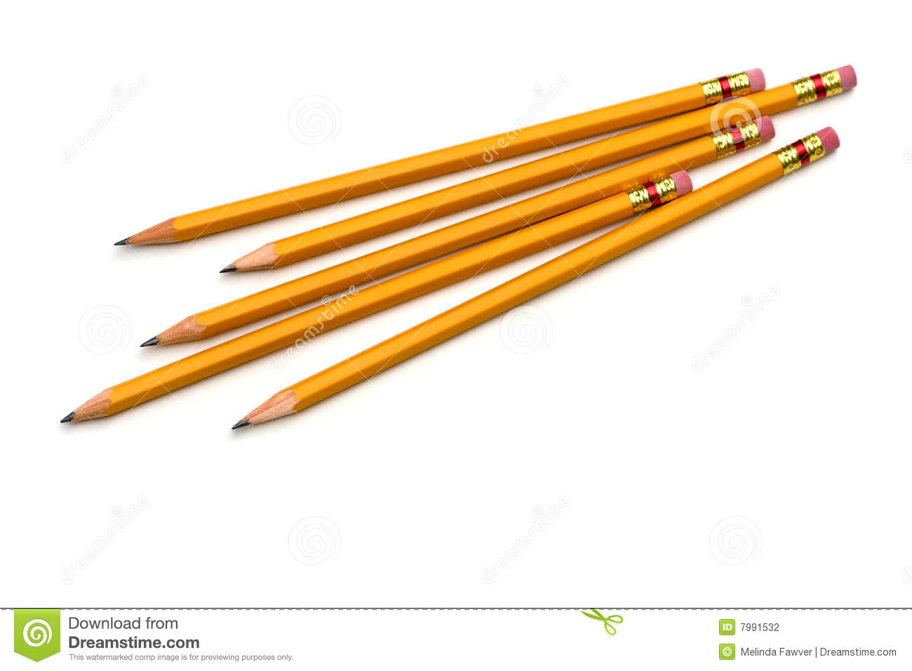 Group Of Pencils Stock Photography - Image: 7991532