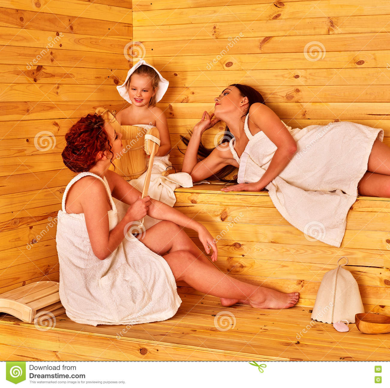 Sauna videos porn about babes playing in sauna
