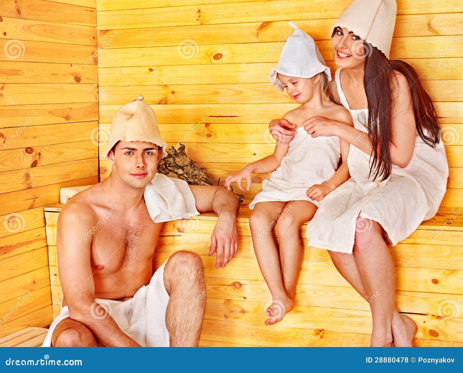Фото в сауне семьями 23 фотография