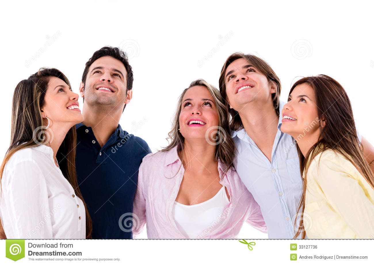 group-people-looking-up-happy-isolated-o