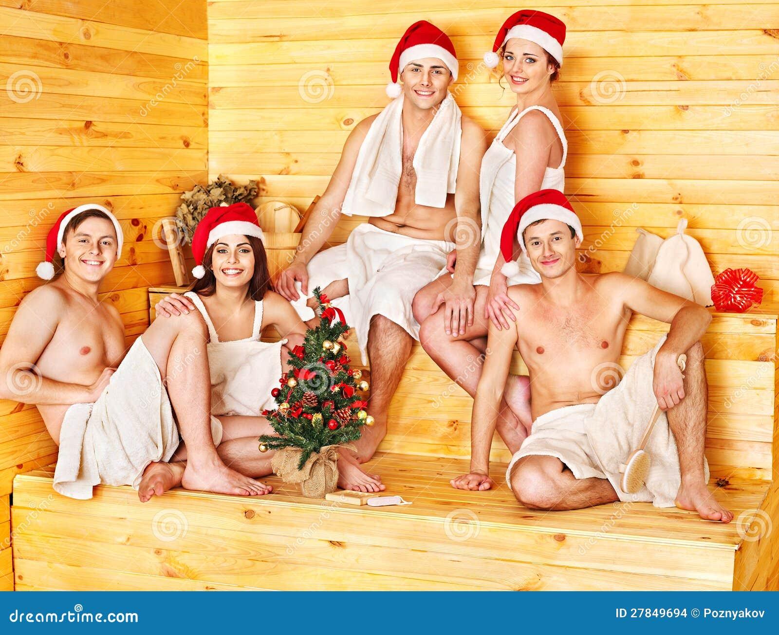 Фото друзей в сауне 8 фотография