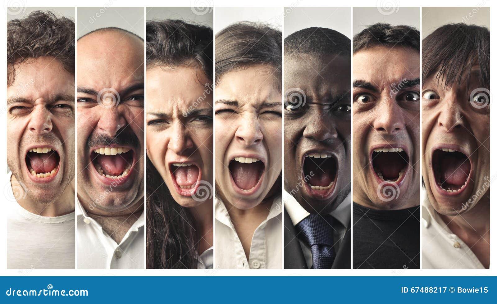 How do you write a 'scream' noise?