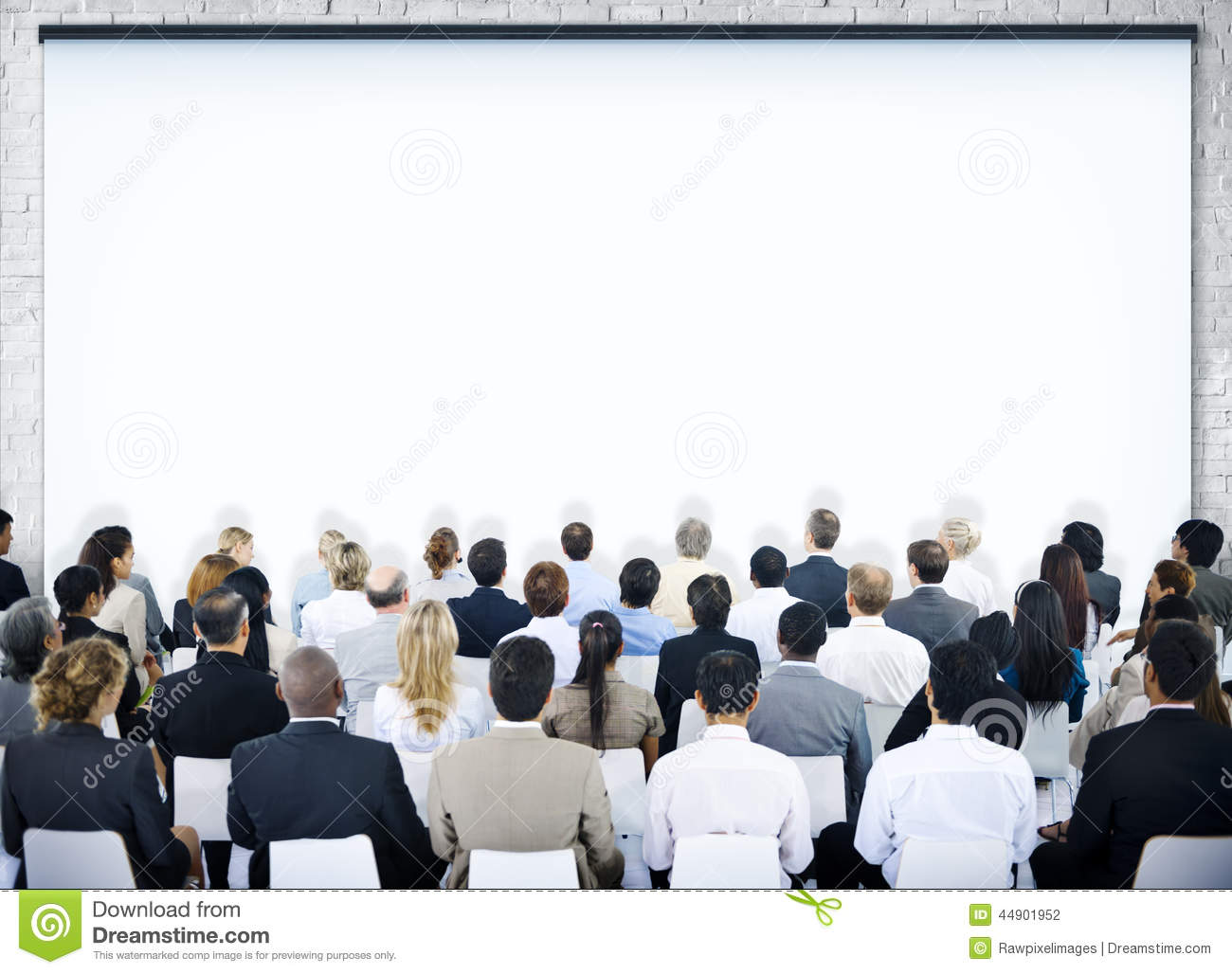 Group Of People In Seminar Stock Photo Image 44901952