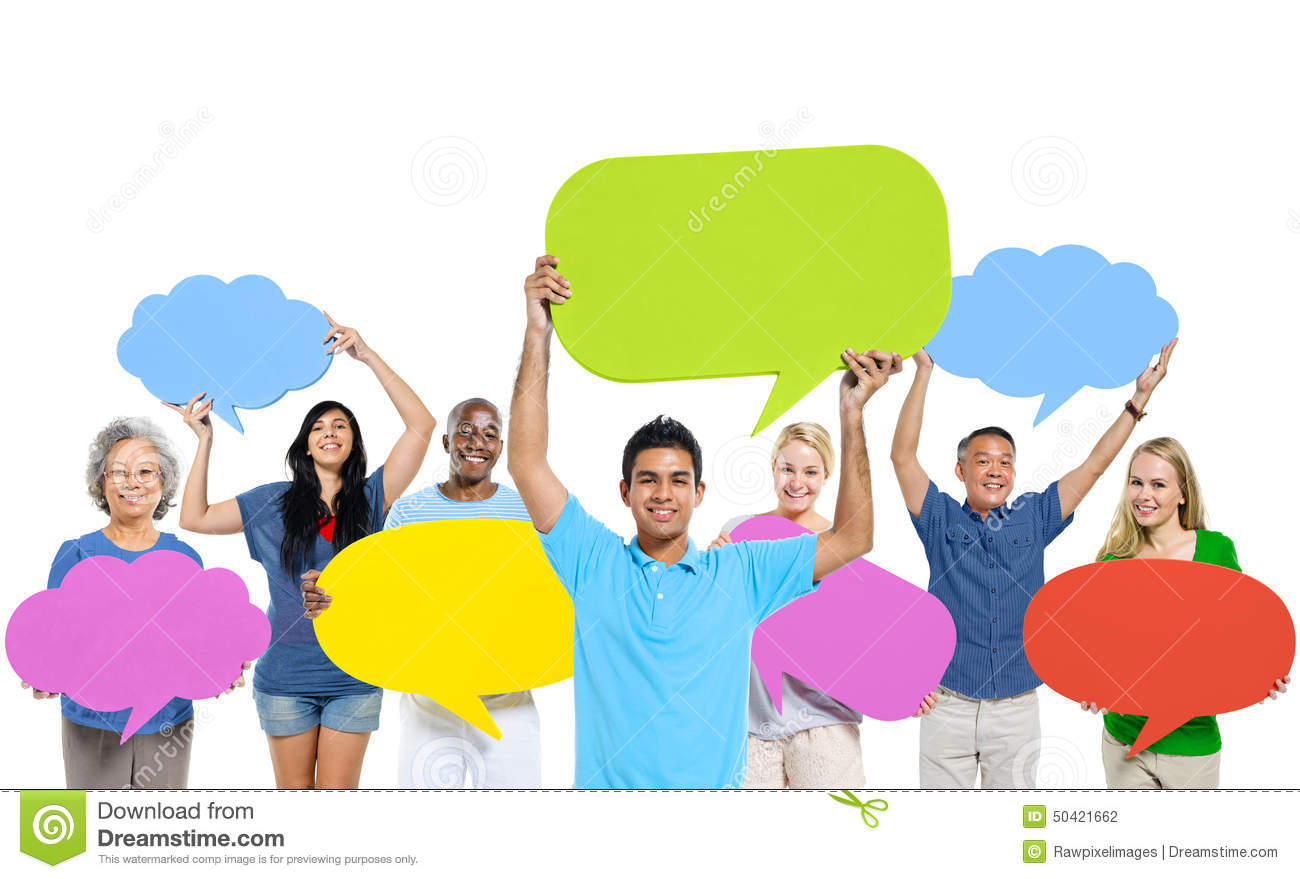 Group People Sharing Ideas Teamwork Concept Stock Photo - Image