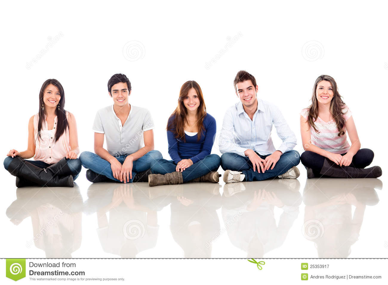 Group of people sitting stock image. Image of adults ...