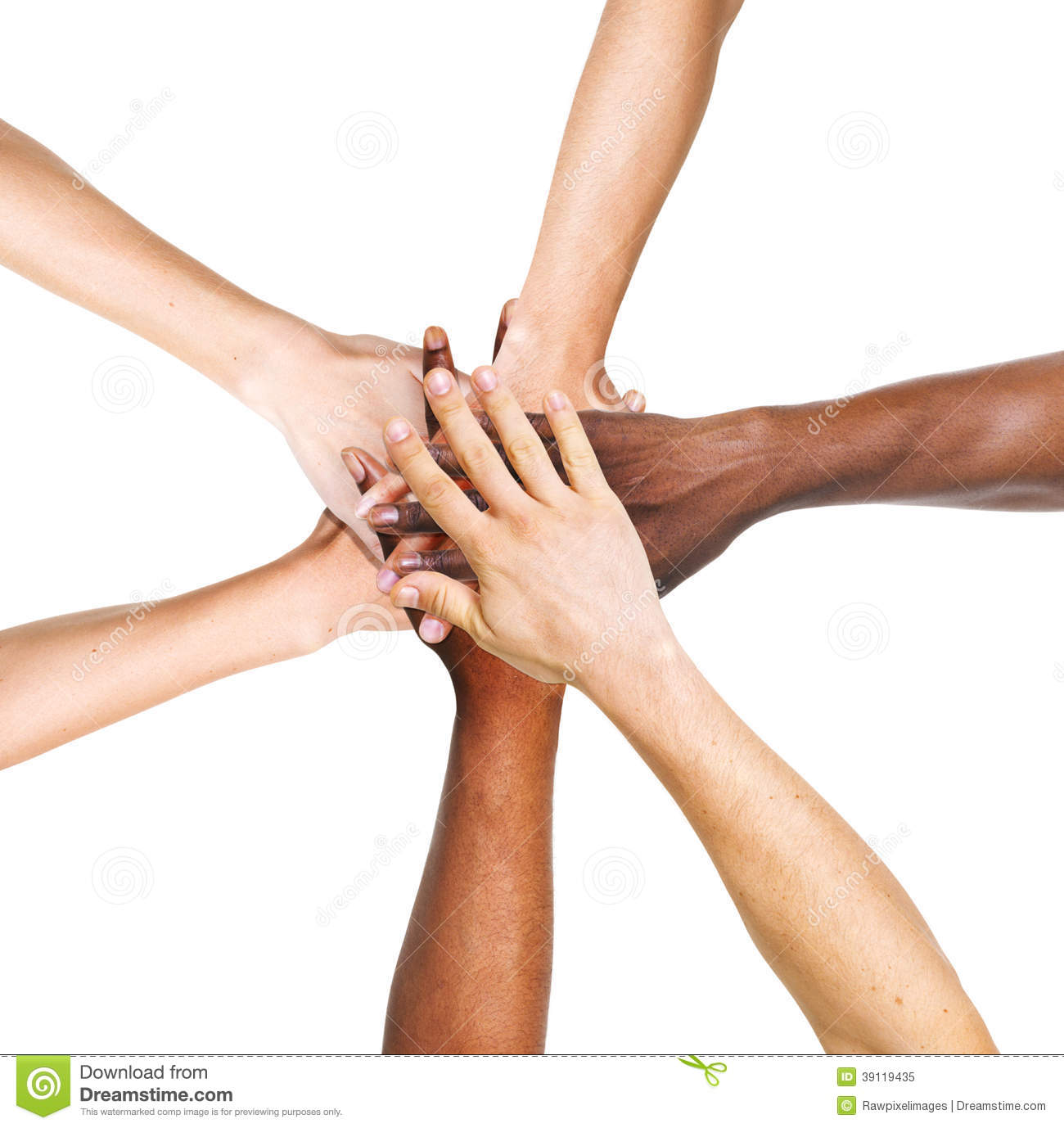 Helping Hands Of A >> Group Of People Stacking Their Hands Together Stock Image ...