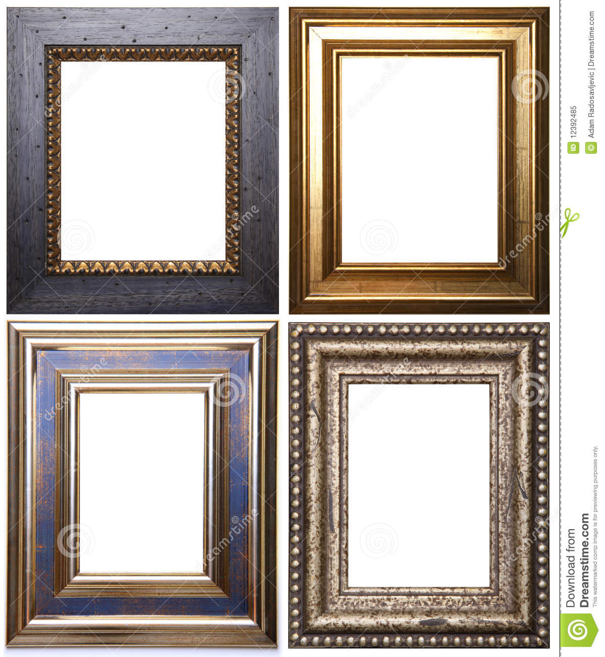 group of picture frames royalty free stock photo image