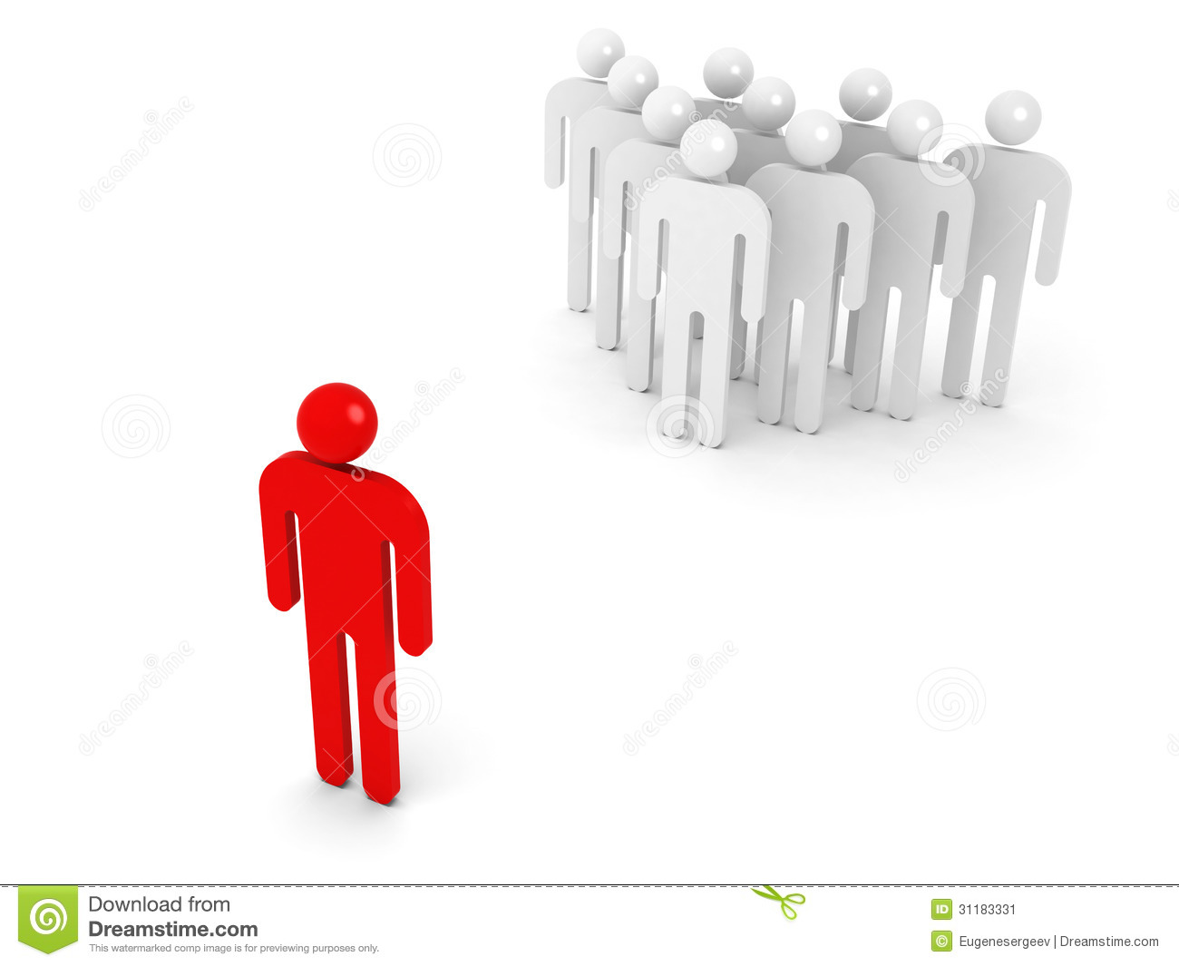 group of schematic people and one opposite red stock image crown clipart simple crown clipart simple