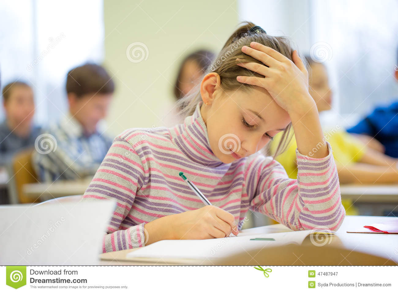 in class writing assessment test