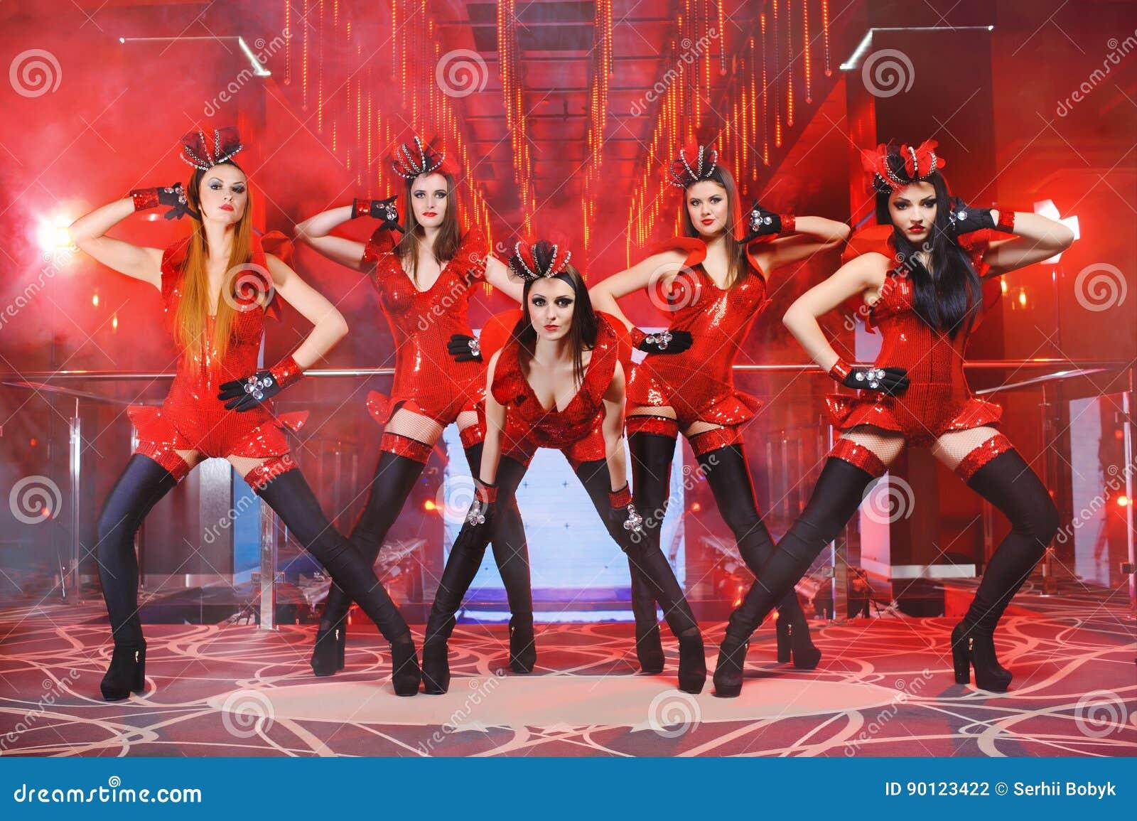 Exotic erotic dance