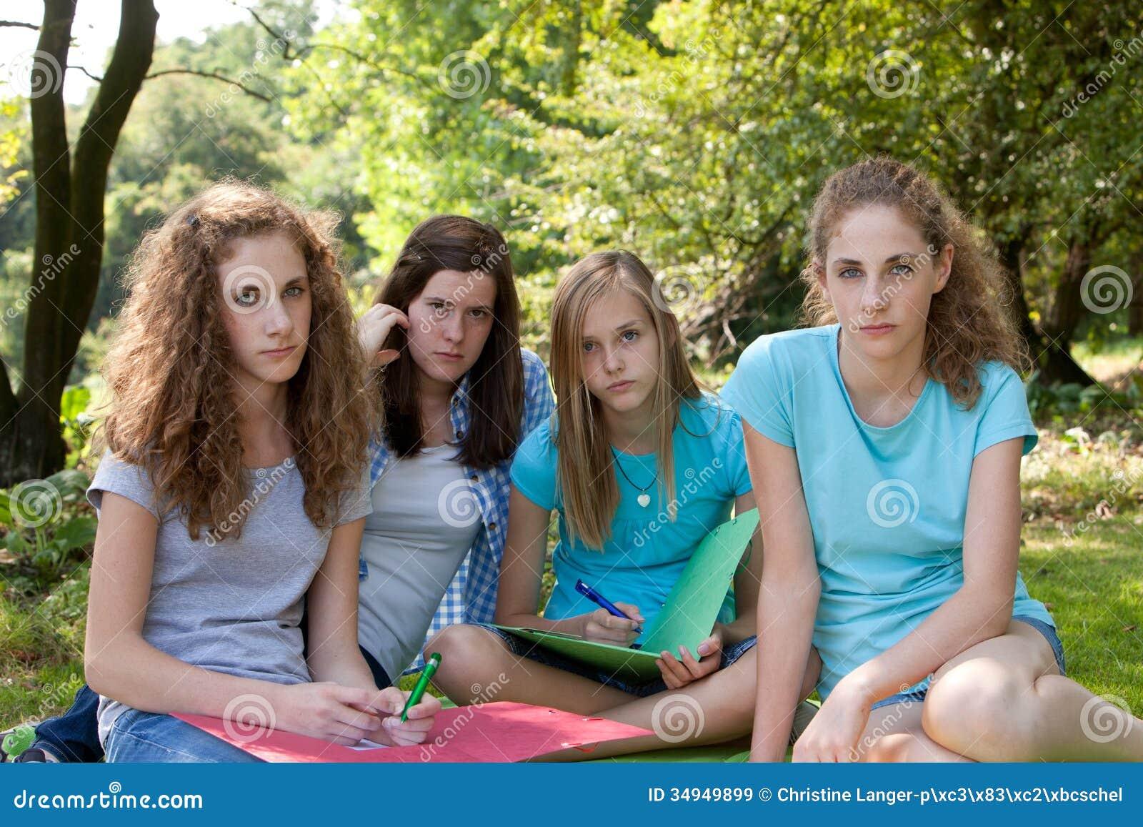 Groups Of Nude Teenagers 76