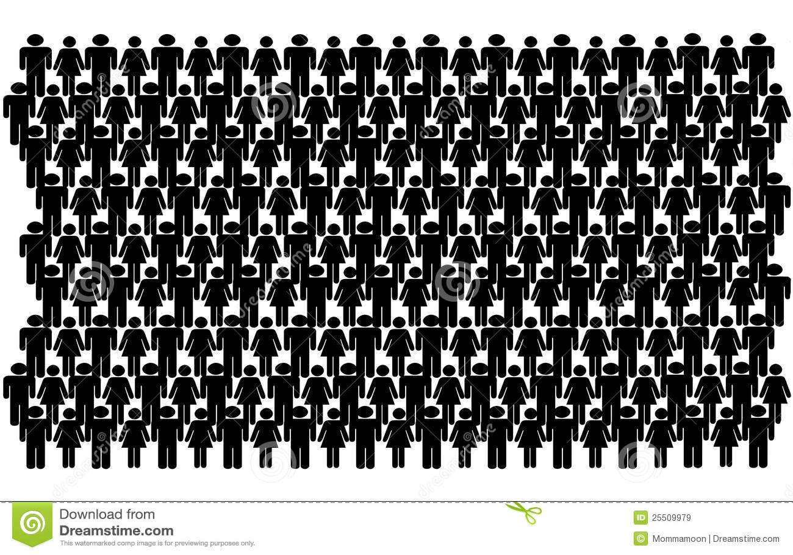 group of stick people illustration 25509979 megapixl